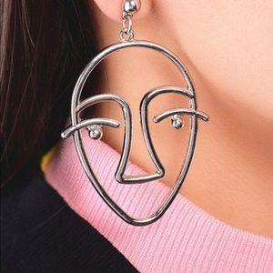 🌈 3/$45 🌈 🆕 silver art earrings